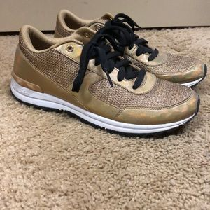 bf4e6979c3d42 Women s Sam Edelman Gold Sneakers on Poshmark